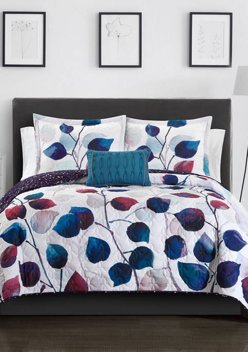 Alecto Bed In a Bag Quilt Set