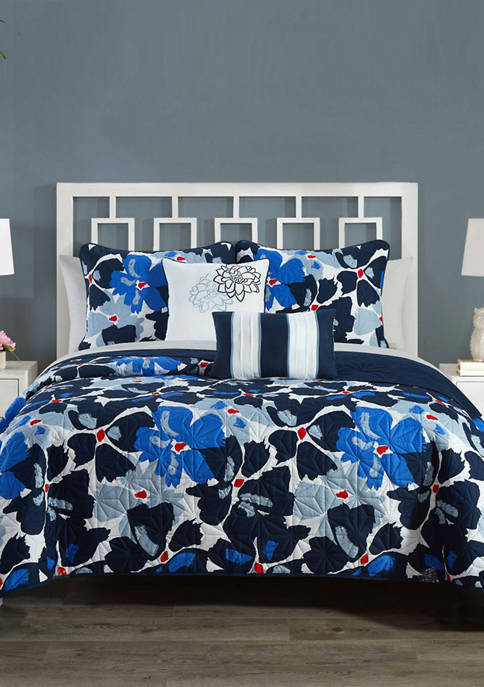 Chic Home Aster Quilt Set