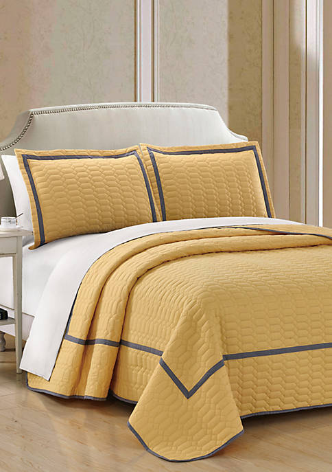 Birmingham Quilt Set- Yellow