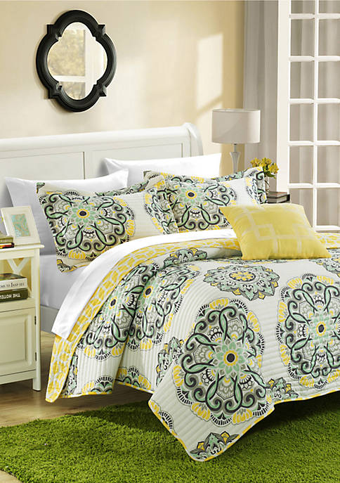 Chic Home Madrid 8-Piece Quilt Set