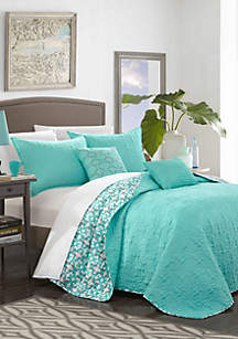Chic Home Anat Reversible Quilt Set