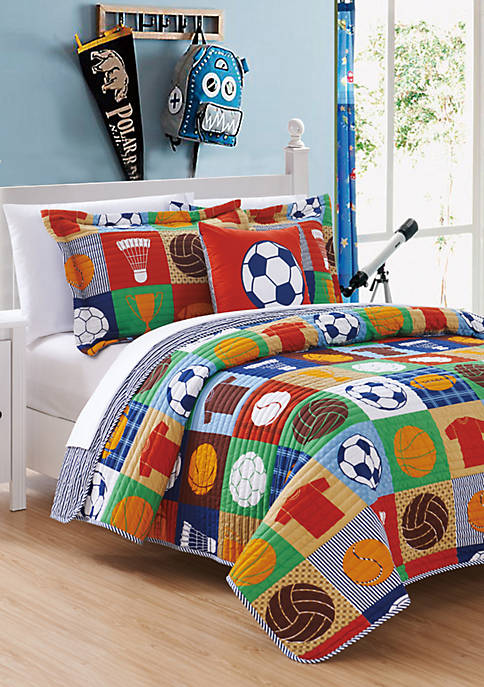 Chic Home Classic Sport Quilt Set