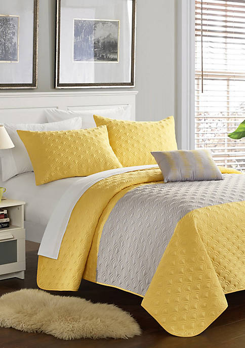 Chic Home Dominic Quilt Set