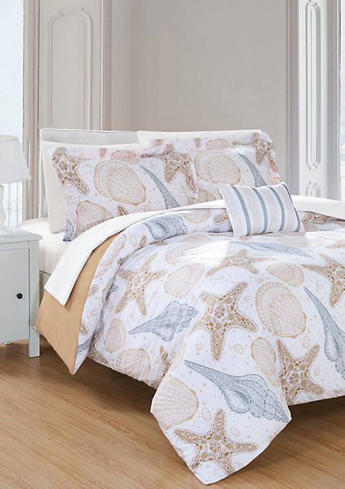 Azure Bed In a Bag Duvet Set