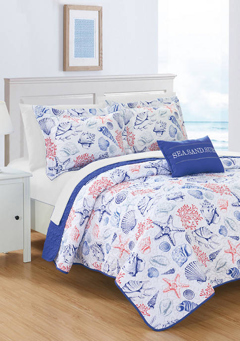 Chic Home Moselle Bed in a Bag Quilt