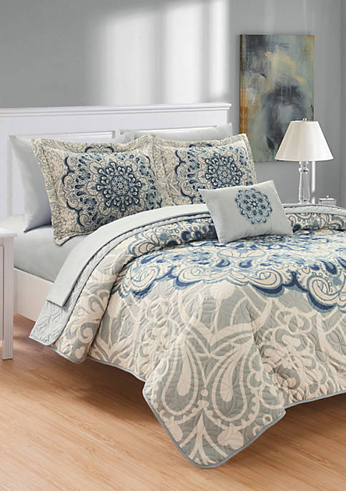 Chic Home Raina Bed in a Bag Quilt