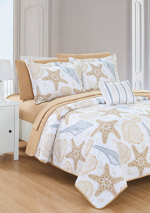 Chic Home Maritime Bed in a Bag Quilt