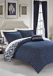 Chic Home Normani Bed In a Bag Duvet Set