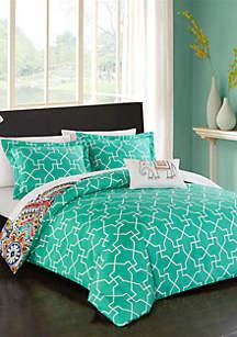 Chic Home Karen Bed In a Bag Duvet Set