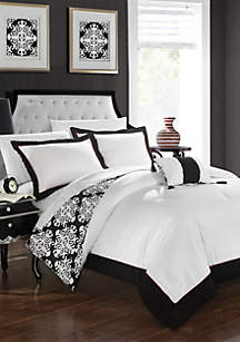Chic Home Trina Bed In a Bag Duvet Set
