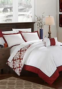 Chic Home Trina Bed In a Bag Duvet Set