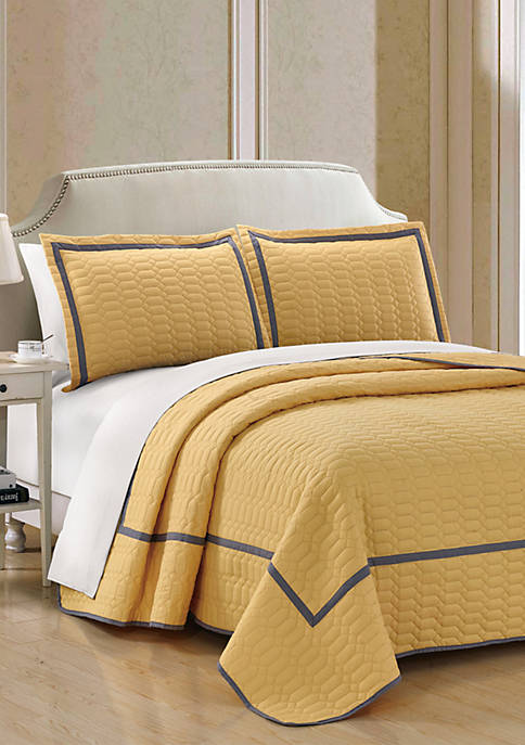 Birmingham Quilt Set- Yellow