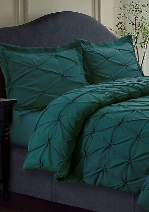 Sydney Pintuck Oversized Duvet Set