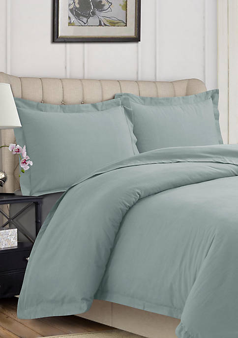Tribeca Living 200-GSM Printed or Solid Flannel Duvets