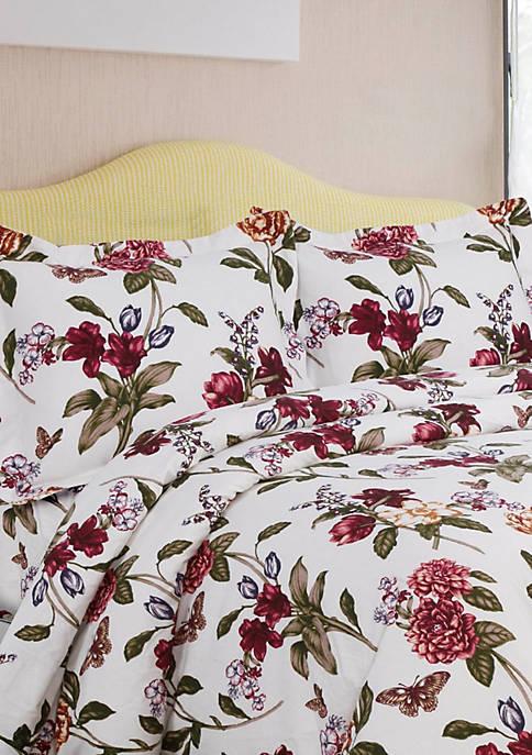 Blossoms Flannel Oversized Duvet