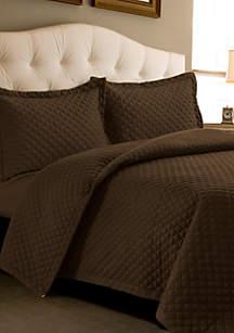 Tribeca Living Brisbane Oversized Quilt Set