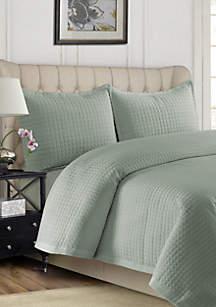 Tribeca Living Como Oversized Quilt Set