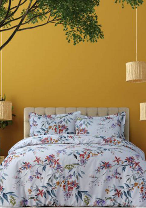 Azores Home Isabella 300 Thread Count Organic Cotton