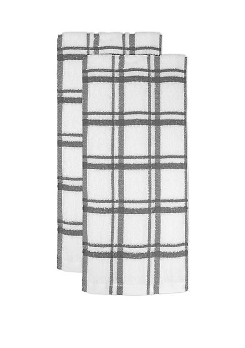 Cooks Tools™ Windowpane Towels- Set of 2