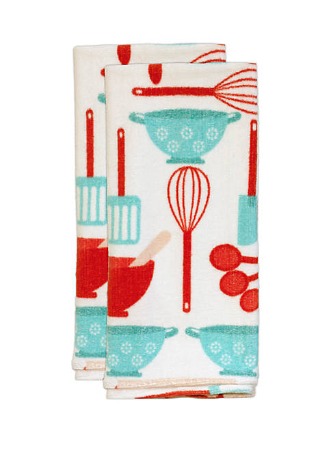 Bake The World 2 Pack Kitchen Towels