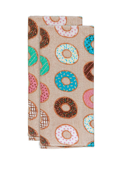 Cooks Tools™ 2 Pack Donut Kitchen Towels