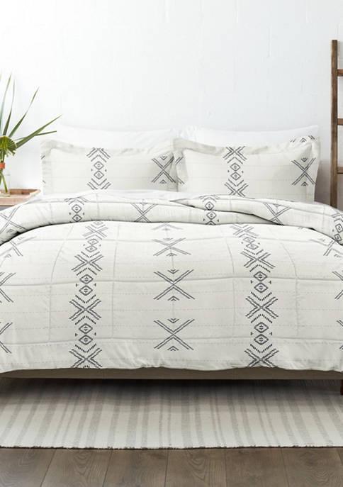 Home Collection Premium Down Alternative Urban Stitch Patterned