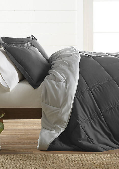 Luxury Inn Premium Down Alternative Reversible Comforter Set