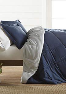 Luxury Inn Premium Down Alternative Reversible Comforter Set