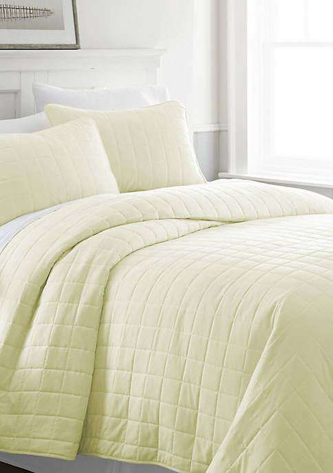 Home Collection Premium Ultra Soft Square Pattern Quilted