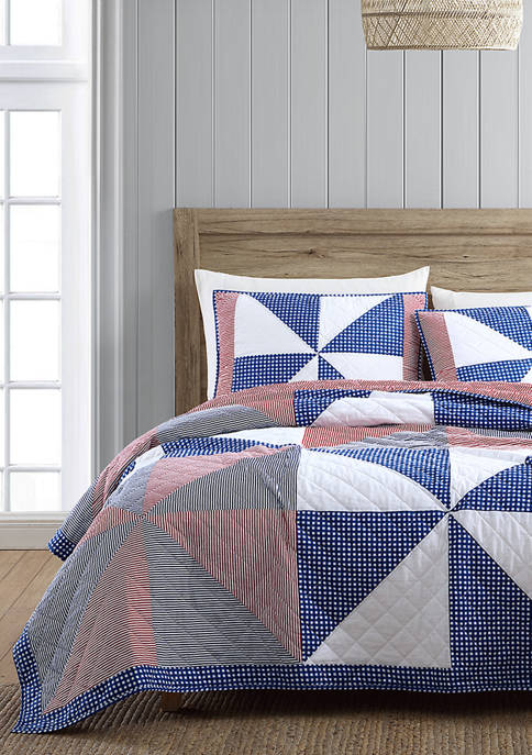 Modern. Southern. Home.™ Americana Pinwheel Quilt