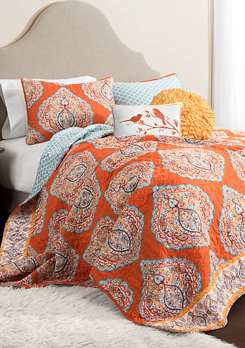Lush Decor Harley Reversible Quilt Set