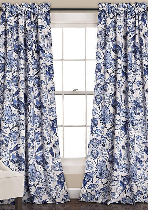 Lush Decor Cynthia Jacobean Window Panel