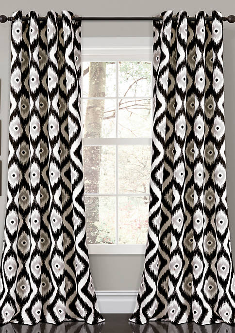 Lush Decor Diamond Ikat Window Panel