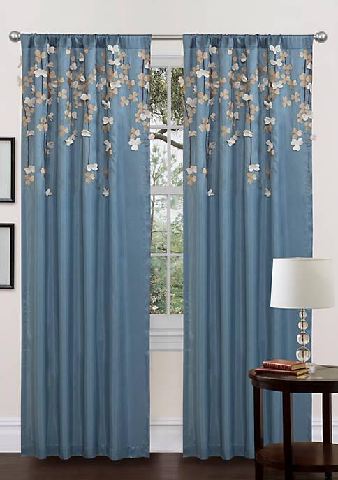Flower Drops Window Panel