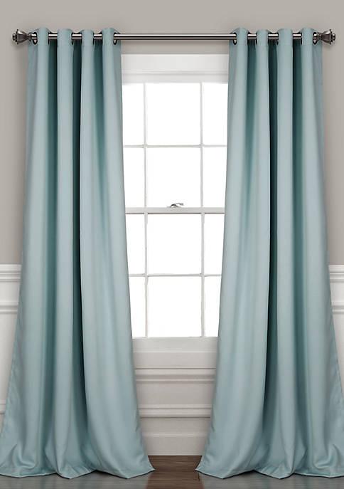 Lush Decor Insulated Grommet Blackout Window Panel Set