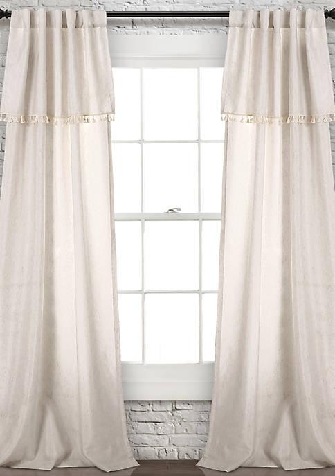 Ivy Tassel Window Panel Set