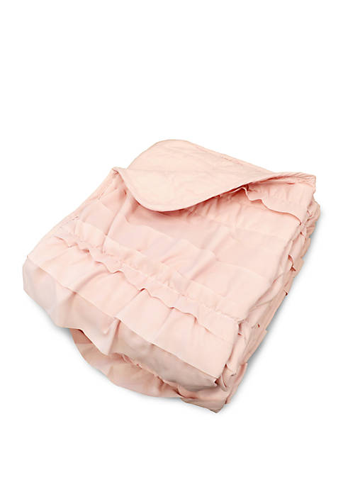Lush Decor Belle Pink Blush Throw