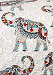Hati Elephants Throw