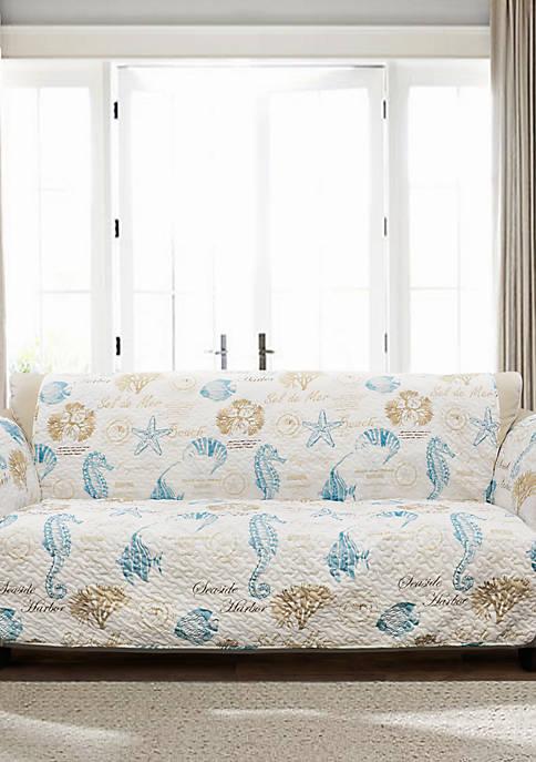 Lush Decor Harbor Life Sofa Slip Cover