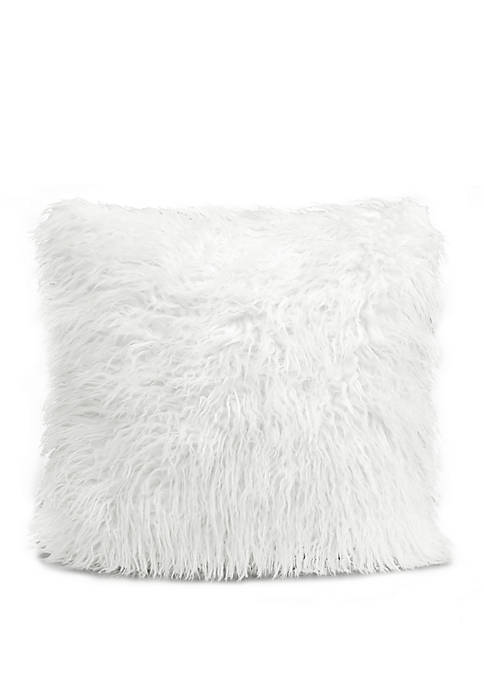 Lush Decor Luca Decorative Pillow White Single