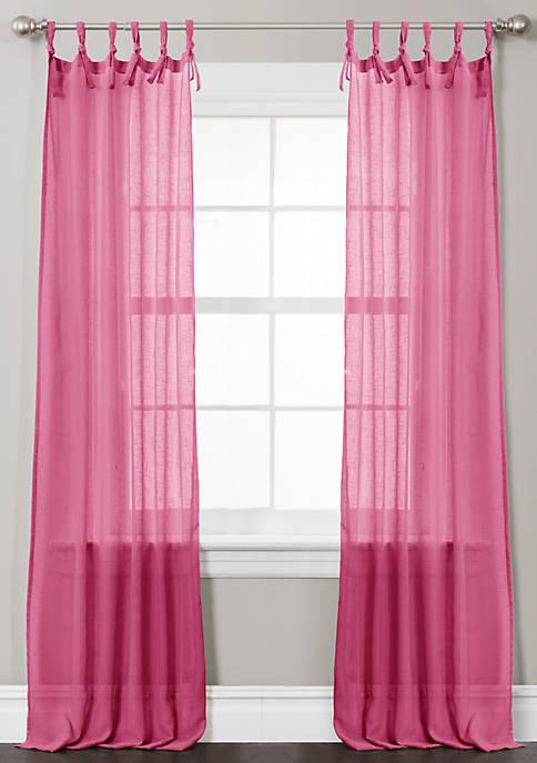 Lush Decor Helena Pink Window Curtian Set 38