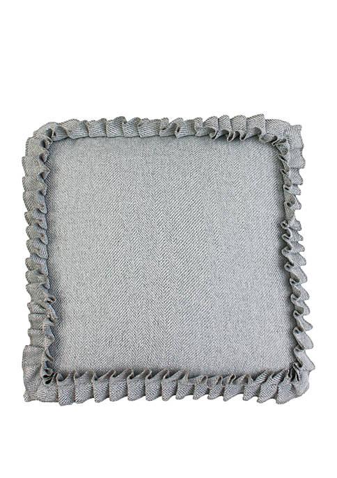 TVER Ruffle Pillow