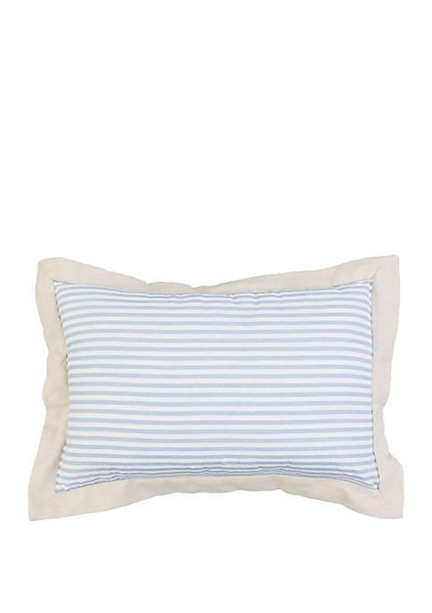 Velisa Striped Flange Pillow