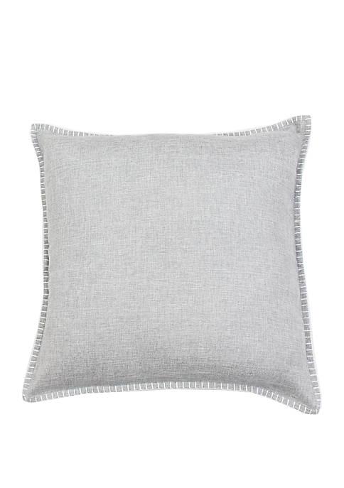 Thro by Marlo Lorenz Charleston Whip Stitch Pillow