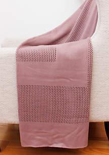 Thro by Marlo Lorenz Kline Knit Throw