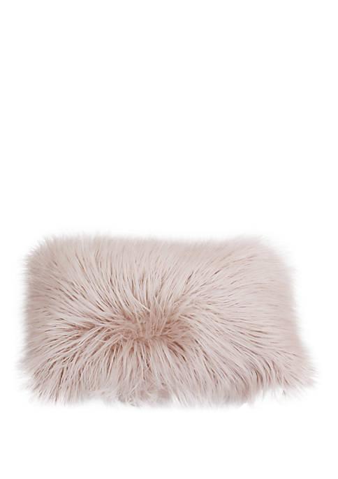 Keller Faux Mongolian Pillow
