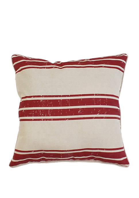 Thro by Marlo Lorenz Dolly Farm Stripe Pillow