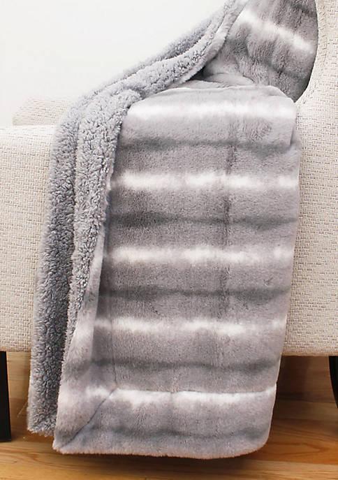 Mandy Faux Fur Decorative Throw