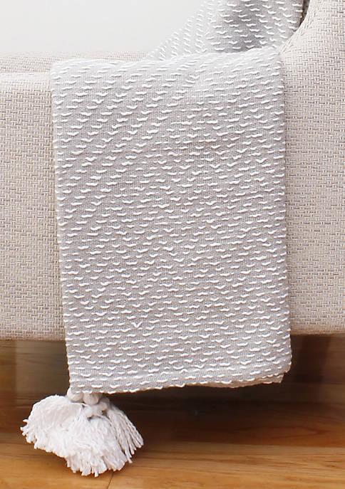 Tarlestown Tassel Decorative Knit Throw