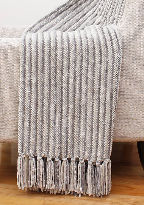Thro by Marlo Lorenz Caiden Chenille Fringe Decorative